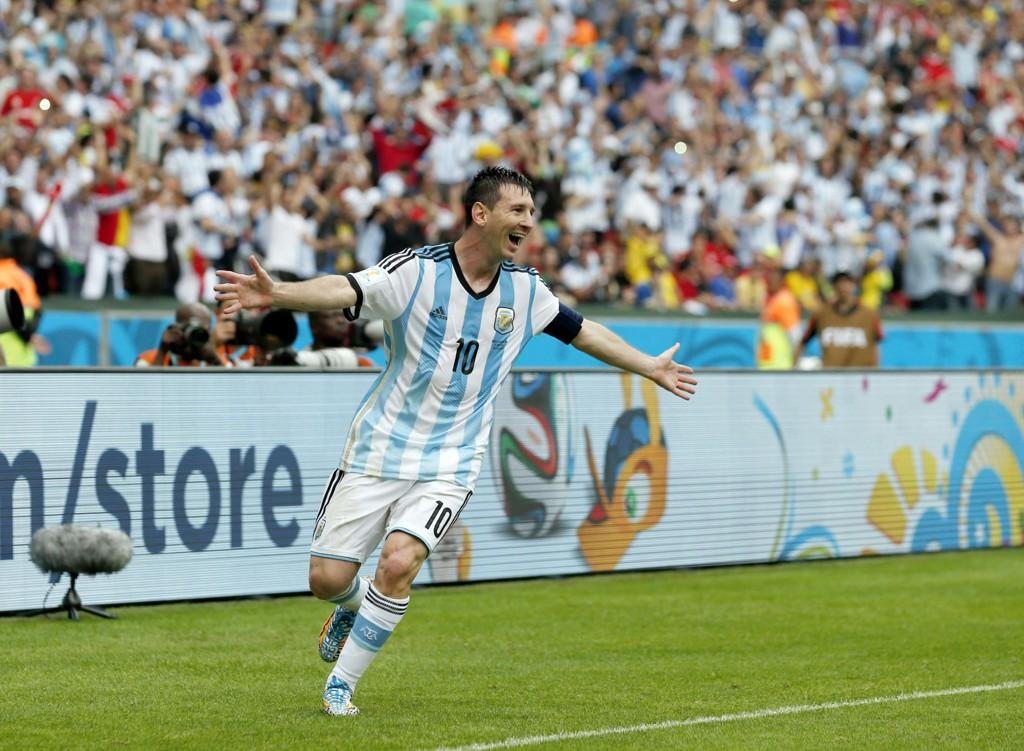 SCORET TO: Lionel Messi er I VM-form.