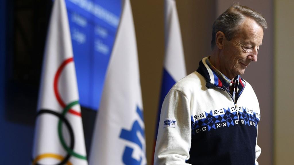Gerhard Heiberg og IOC sliter litt med oppslutningen.