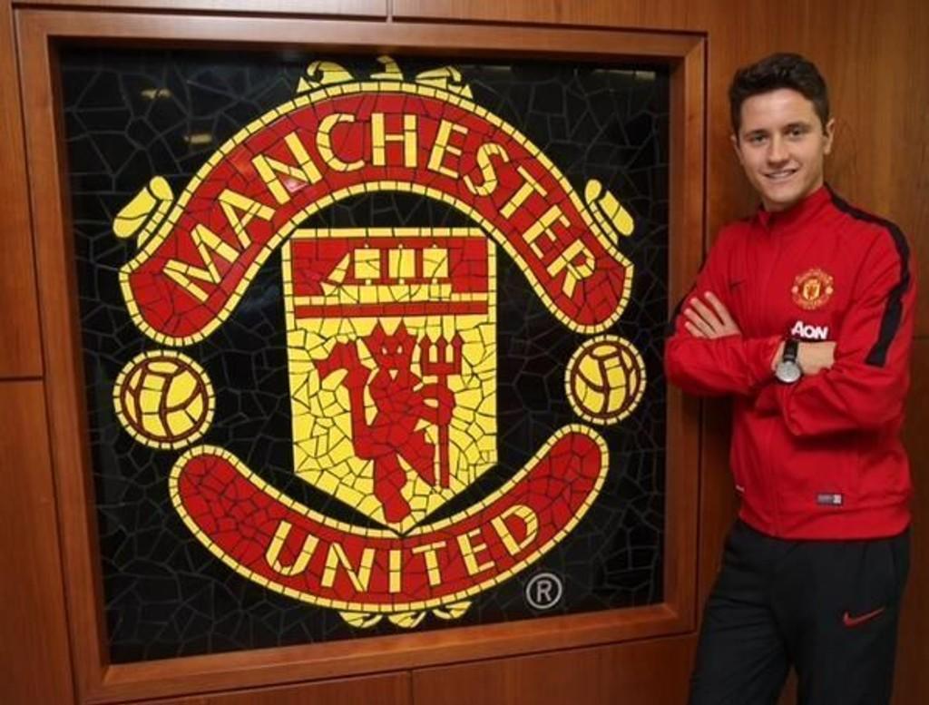 UNITED-KLAR: Ander Herrera har kjøpt seg ut av kontrakten med Athletic Bilbao og er klar for Manchester United.