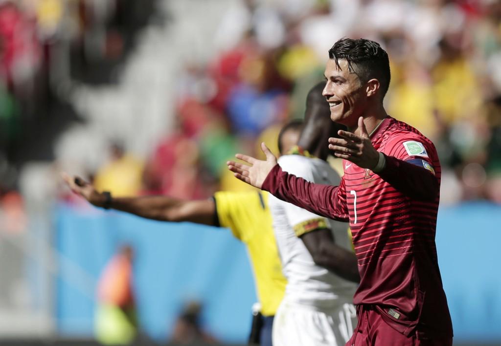 SCORET: Cristiano Ronaldo scoret endelig for Portugal, men det hjalp ikke. Portugiserne er ute av fotball-VM.