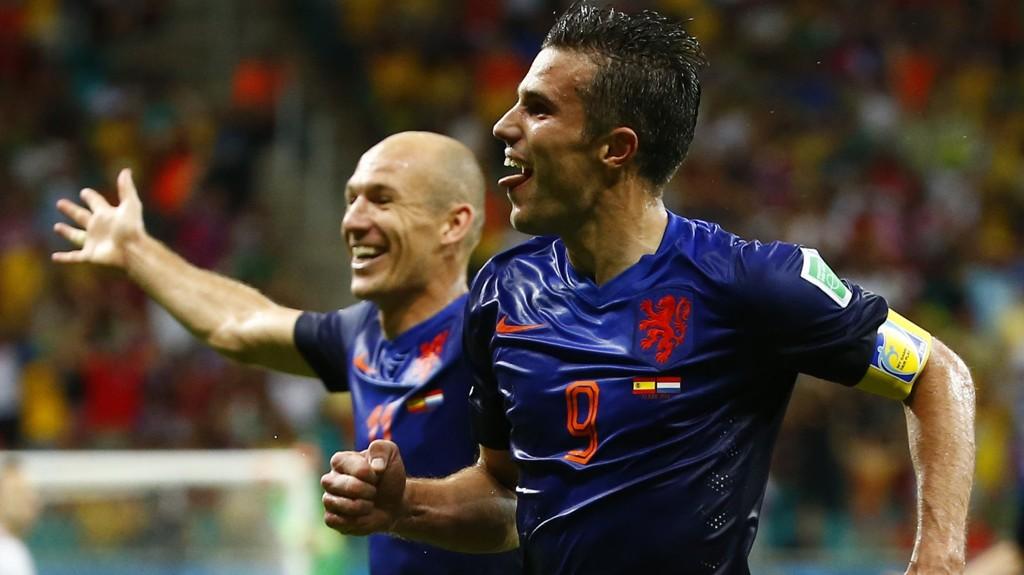 Robin van Persie og Arjen Robben har hatt et strålende VM og er Nederlands to skarpeste angrepsvåpen mot Mexico i kveld.