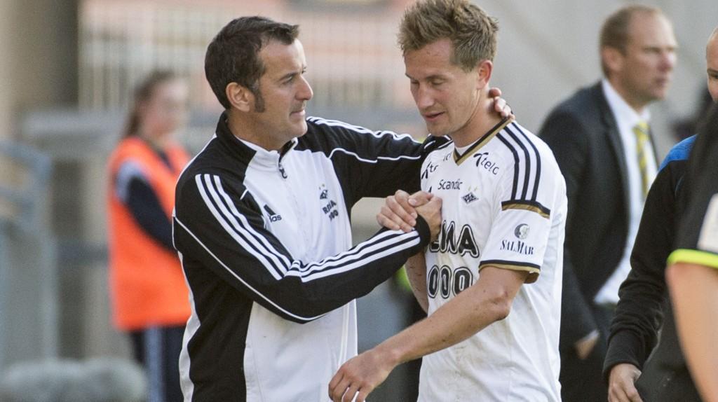 Per Joar Hansen og Morten Gamst Pedersen vet hva som skal til for å kvalifisere seg til Europa League.