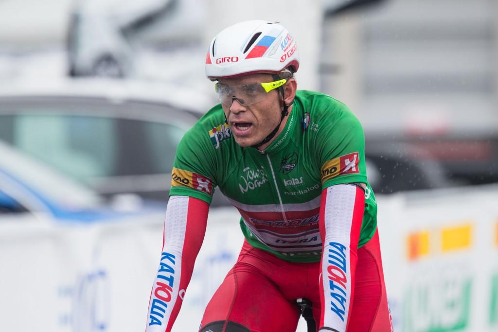 ENESTE NORDMANN: Alexander Kristoff sykler Tour de France.