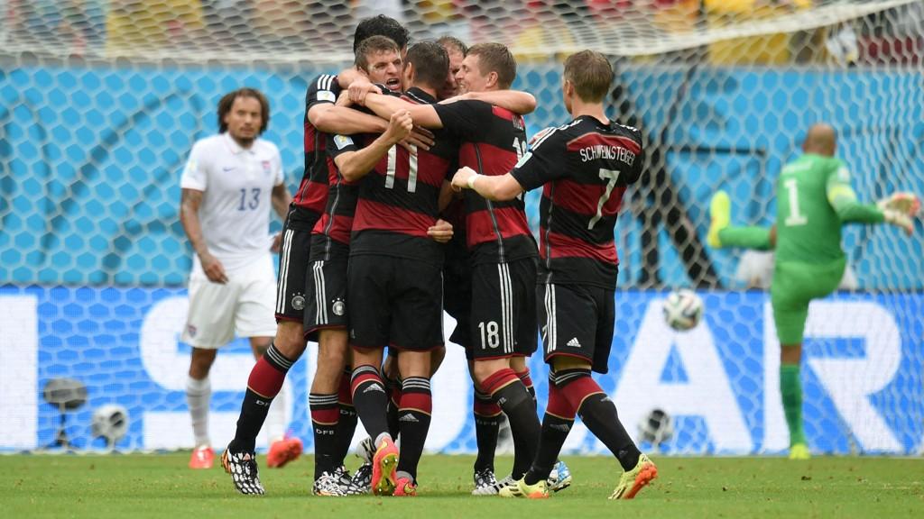 Thomas Müller og Tyskland har vist at de kan avgjøre jevne kamper så langt.