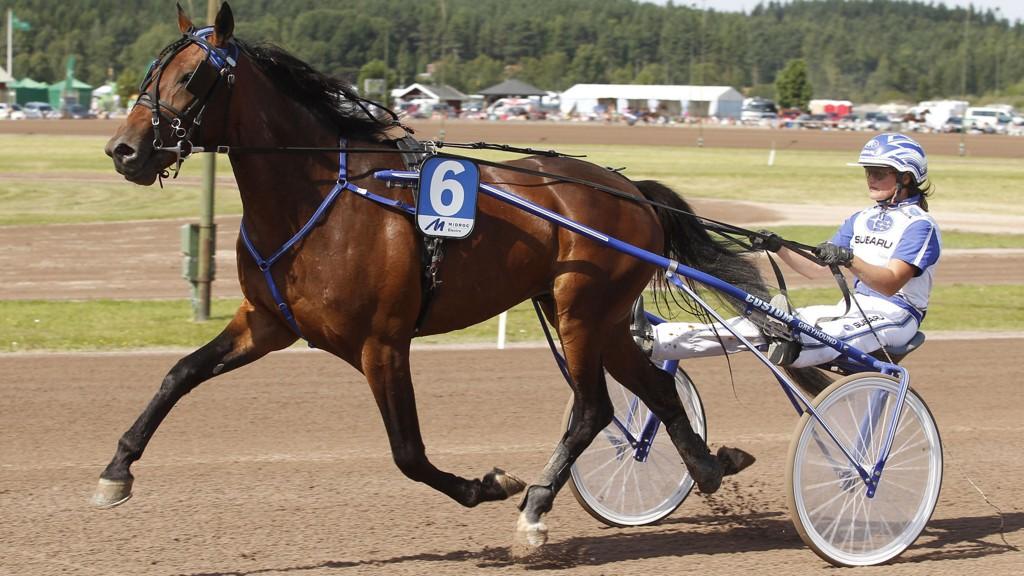 Västerbo Goalmoney og Kajsa Frick. Bilde Kanal 75.