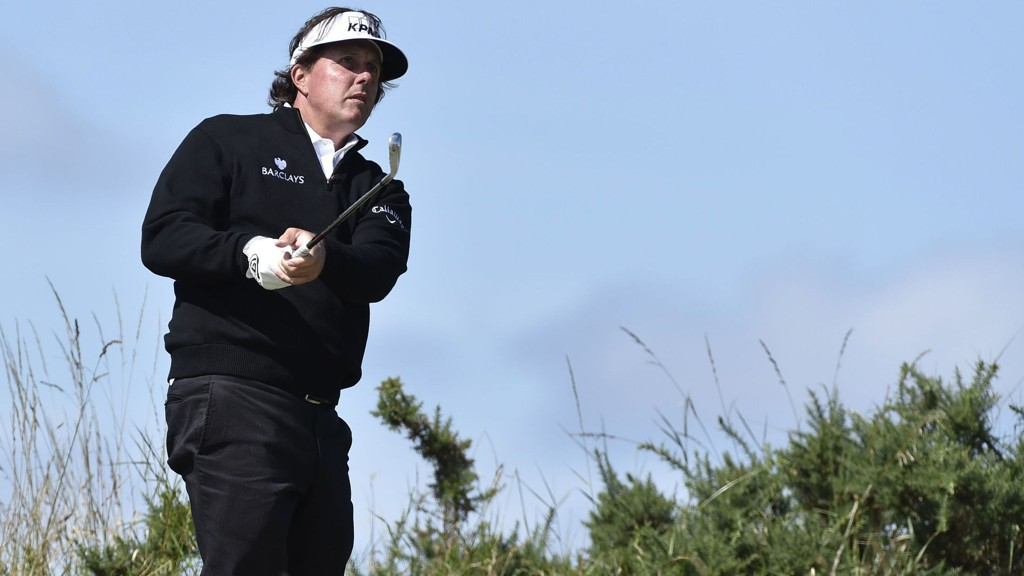 POSITIV: Phil Mickelson.
