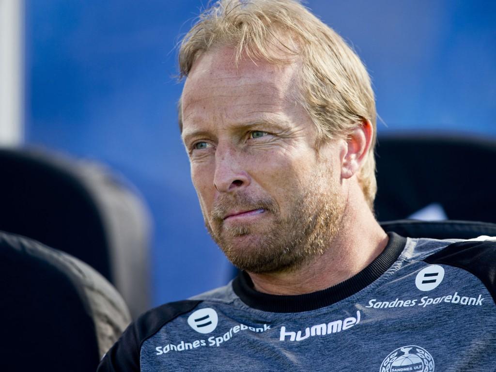 FERDIG: Asle Andersen er ferdig som Sandnes Ulf-trener.