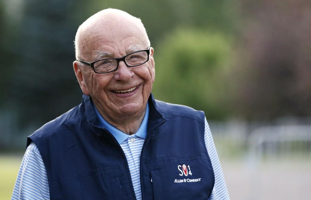 Rupert Murdoch, sjef for News Corporation, forsøker å lage verdens største mediekonsern.