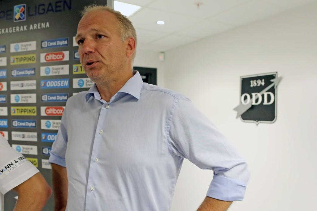 MEDALJE: Odd lukter på medalje i årets Tippeliga.