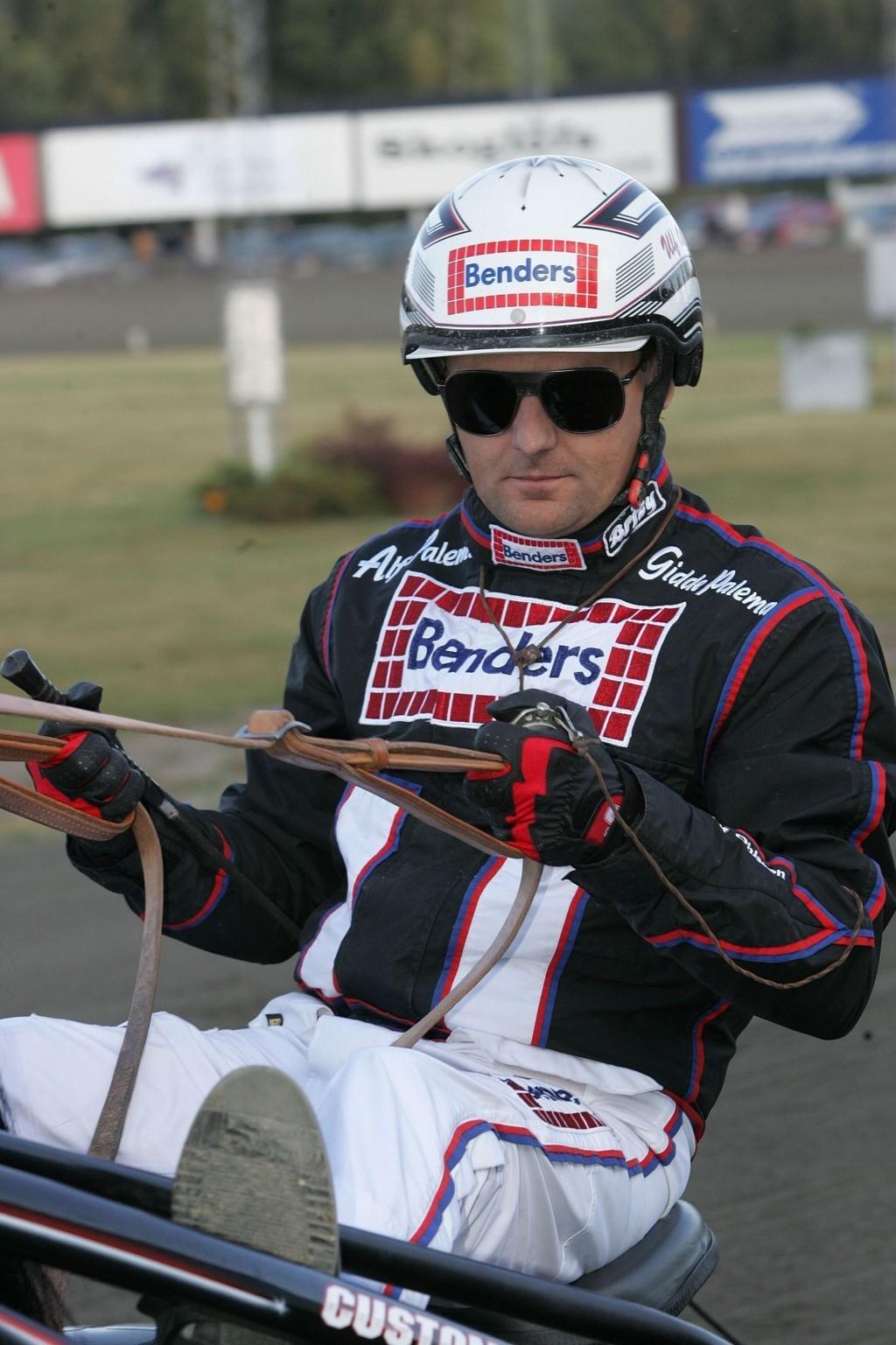 Ulf Ohlsson kjører vår banker i V65-spillet. Foto: Anders Kongsrud/www.hesteguiden.com.