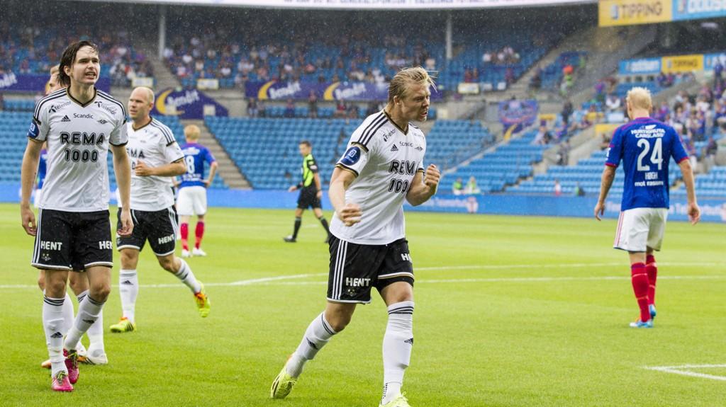Vi håper Rosenborg sklir og skaper en liten skrell.