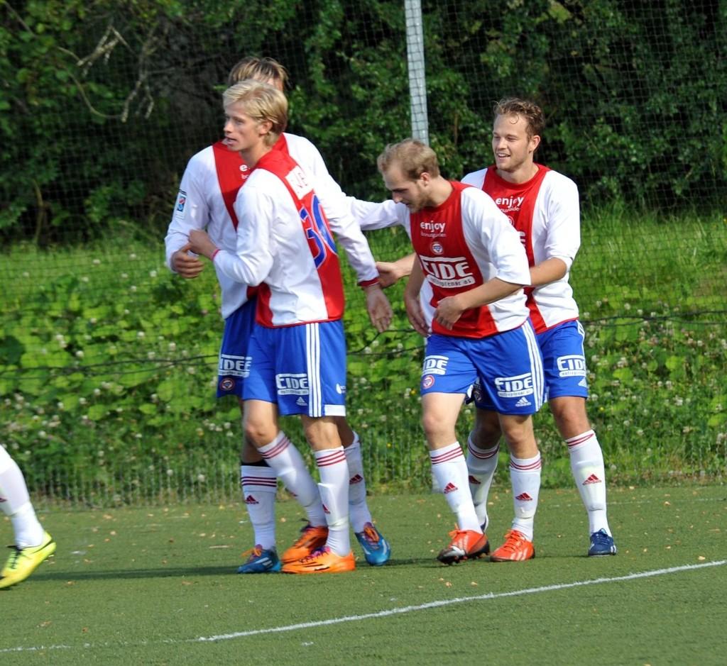 Jonas Strømberg sørget for ett poeng for KFUM i det 90 minutt.