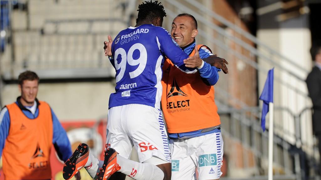 Aaron Samuel og Bojan Zajic har blitt yndlinger i Sarpsborg denne sesongen.