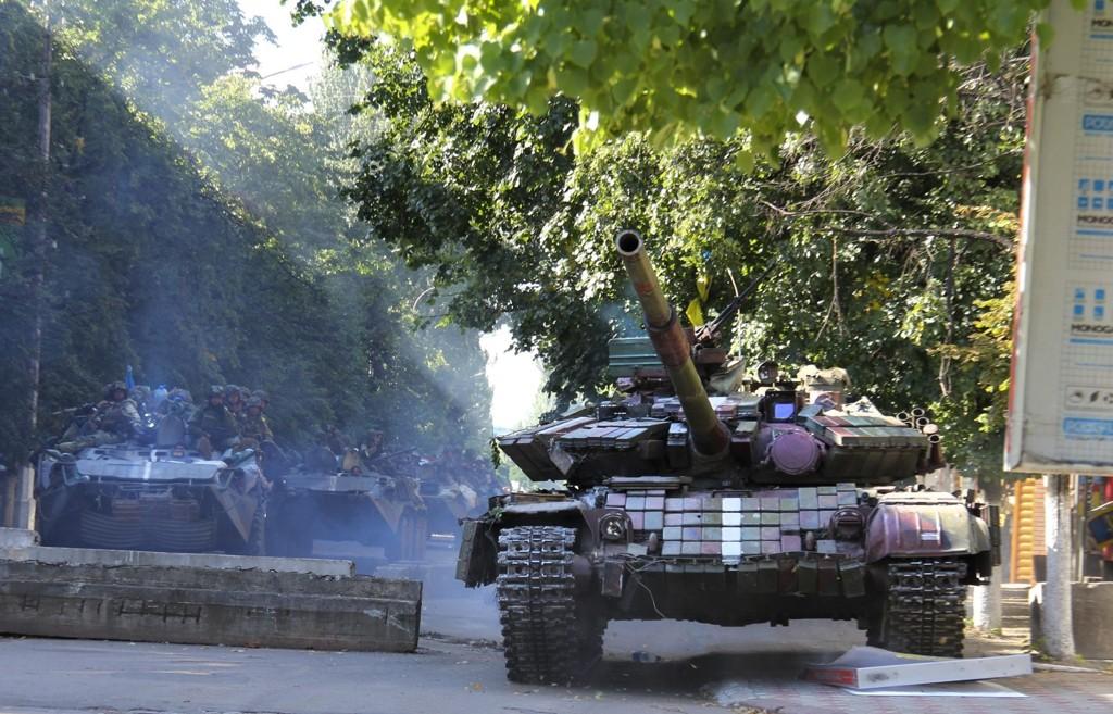 Det har vært kamphandlinger i Ukraina over lang tid. Nå defineres det som krig.