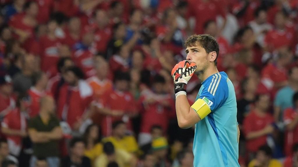 ARSENAL-AKTUELL: Iker Casillas.