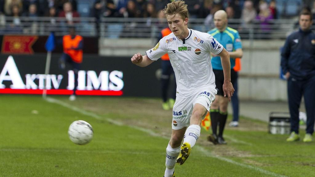 Marius Høibråten er en av mange forsvarsspillere som ikke spiller mot Sandnes Ulf.