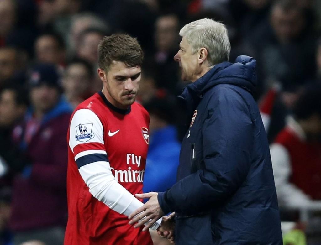 SLO TILBAKE: Etter en tøff tid på fotballbanen for Aaron Ramsey, slo waliseren tilbake med en fantastisk foregående sesong for Arsenal.