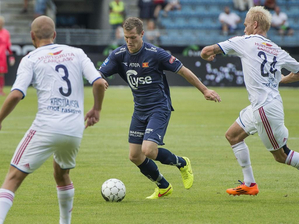 TIMÅLSFEST: Viking og Vålerenga ga seg ikke før det sto 5-5 på måltavla.