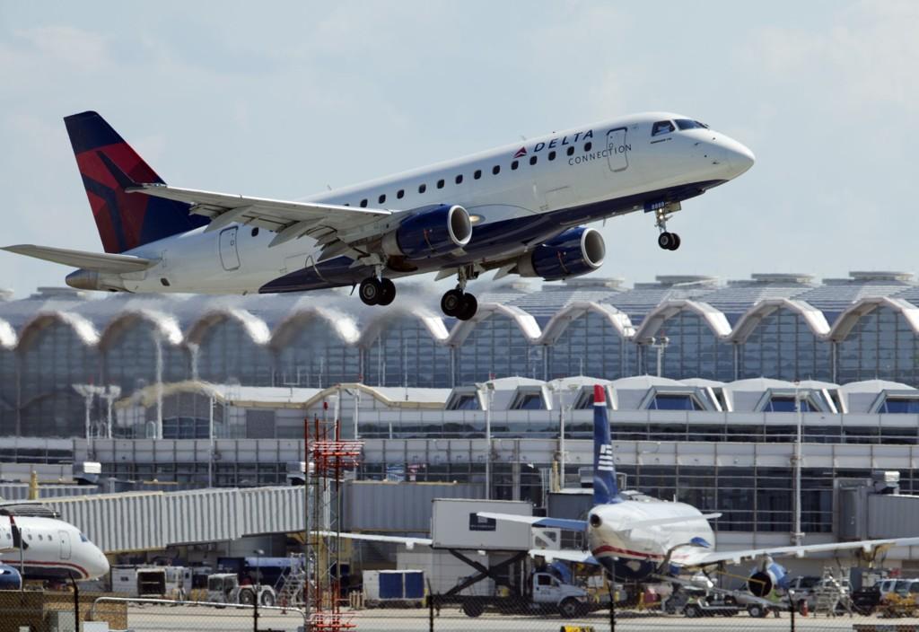 DELTA: Den 19 år gamle norske kvinnen ble misbrukt om bord på et Delta Air Line fly mellom Detroit i USA og Amsterdam i Nederland i juni 2012.