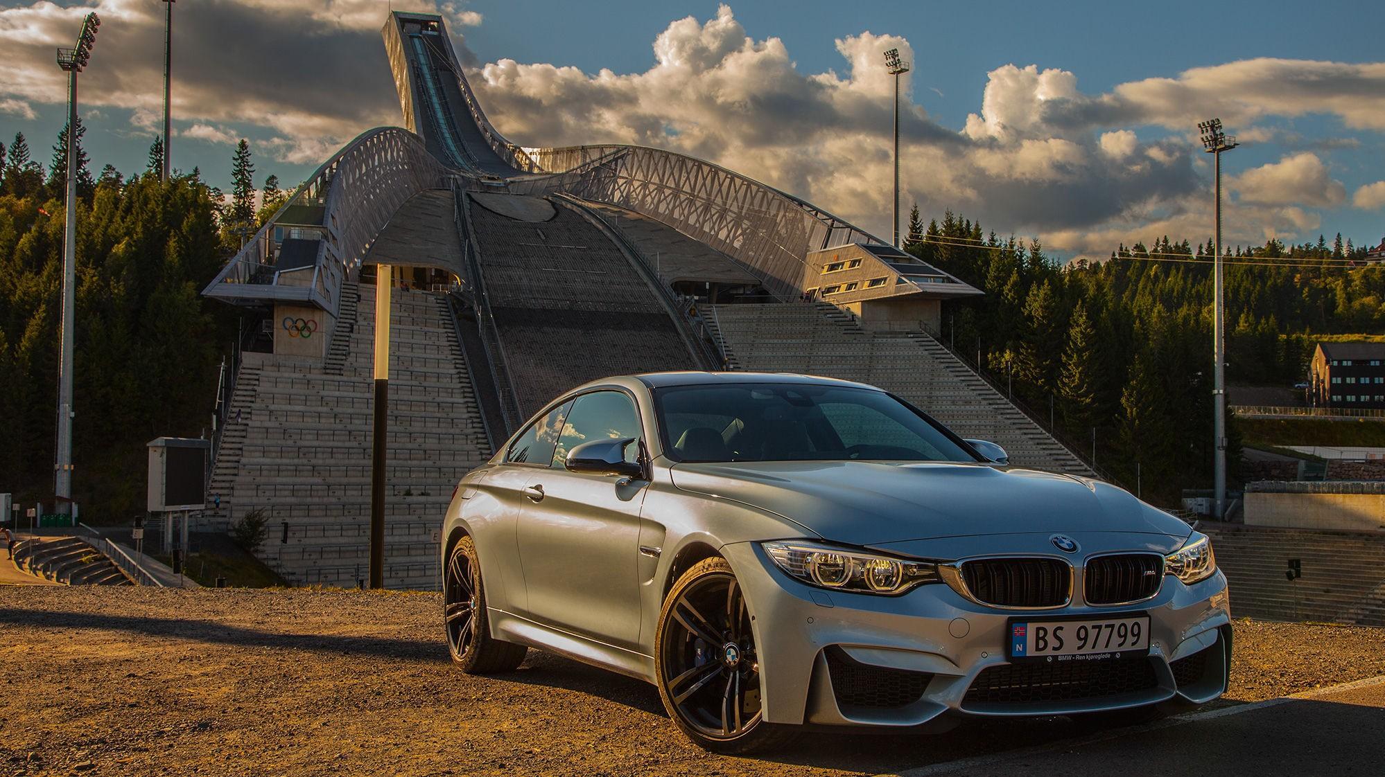 PÅ TOPP: Nye BMW M4 er det nærmeste du kommer en toppmodell fra tyskerne.