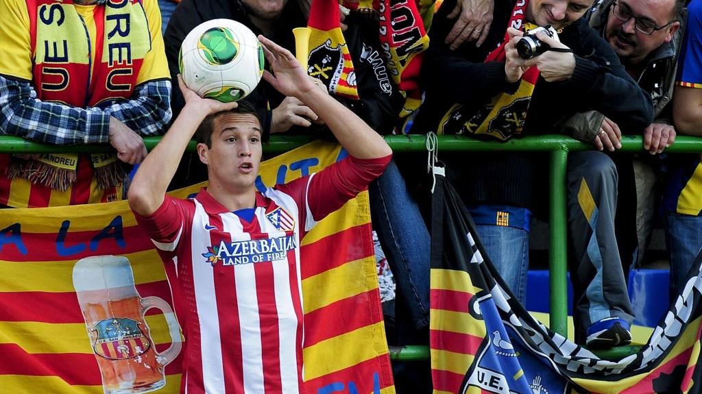 KLAR FOR LIVERPOOL: Javier Manquillo lånes ut til Liverpool.