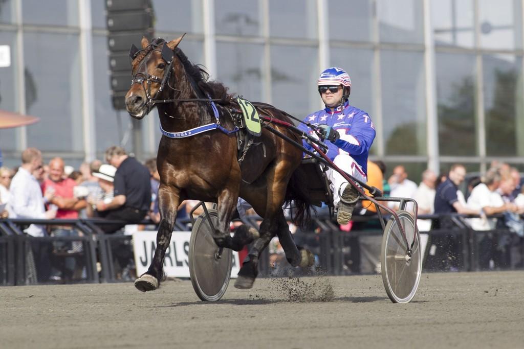 Tøffingen Kleppe Manden blir vond å ha med å gjøre på torsdag. foto_Roger Svalsr¿d_hesteguiden.com