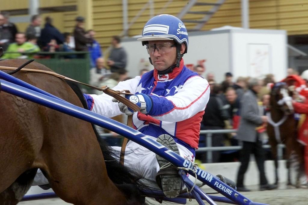 Claes Svensson sitter bak vår frekke V65-banker fra Solvalla denne fredagen. Foto : hesteguiden.com