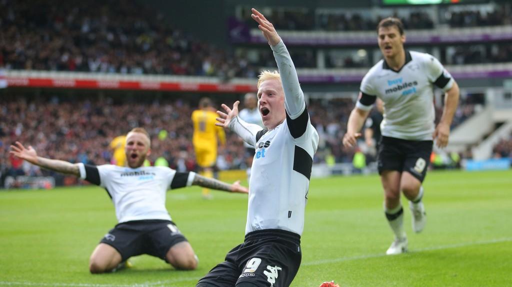 OPPRYKKSFAVORITTER: Derby er en av opprykksfavorittene denne sesongen.