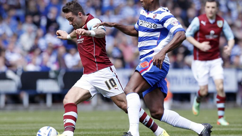 Danny Ings (venstre) blir viktig for Burnleys overlevelse.
