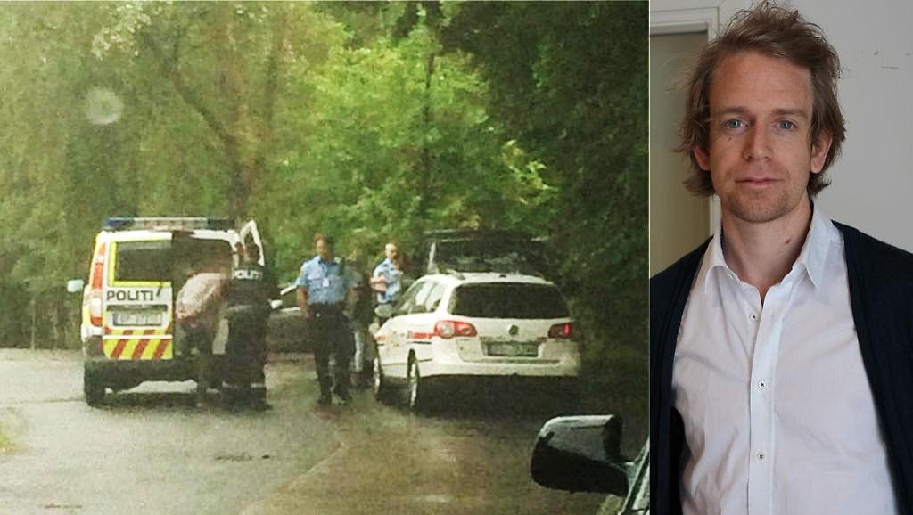 Da politiet fant de to mennene sovende bak i bilen de skal ha stjålet fra Abildsø Elektriske, pågrep de dem på stedet.