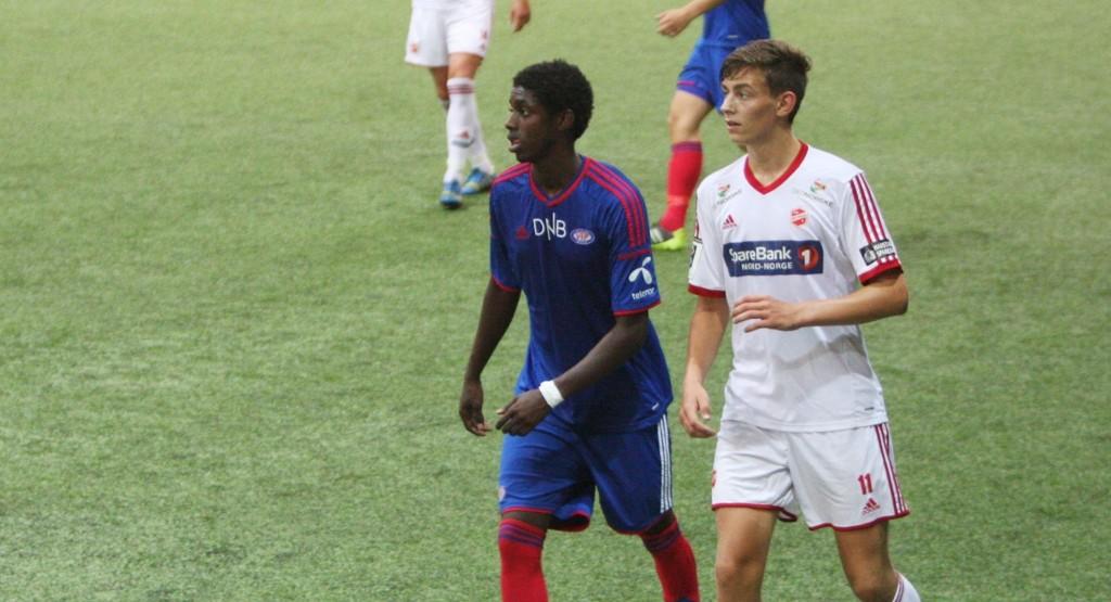 Moussa Nije var meget god for Vålerenga 2 i kampen mot Medkila.