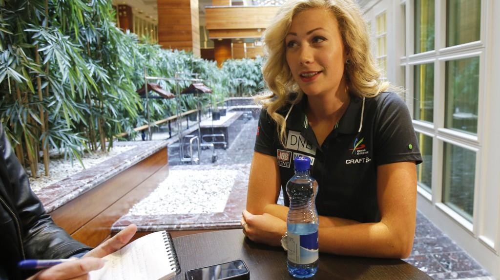 Isabell Pedersen (22) har slitt med betennelse under den ene foten og innser at årets friidretts-EM i Zürich på mange måter bare blir en vei mot nye mål.