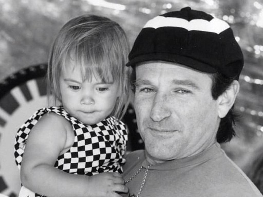 Robin Williams siste Instagram-post var et bilde med datteren Zelda, der han gratulerte henne med bursdagen.