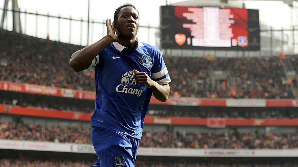 Lukaku har levert godt for Everton.