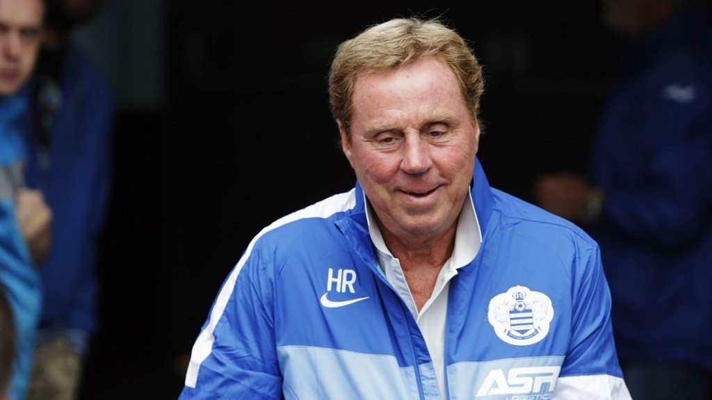 Englands lureste smil er signert Harry Redknapp.