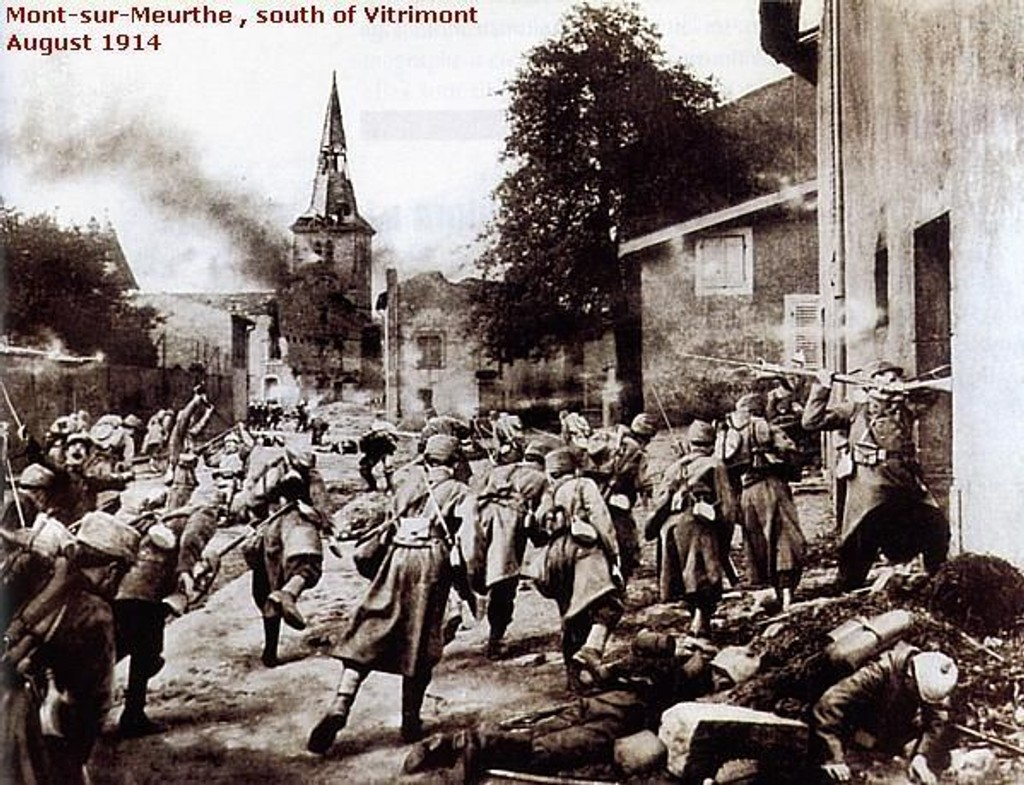 våpen under første verdenskrig