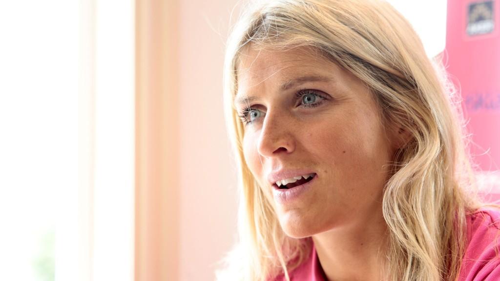 FØLER IKKE PRESS: Therese Johaug gleder seg til kommende VM-sesong.