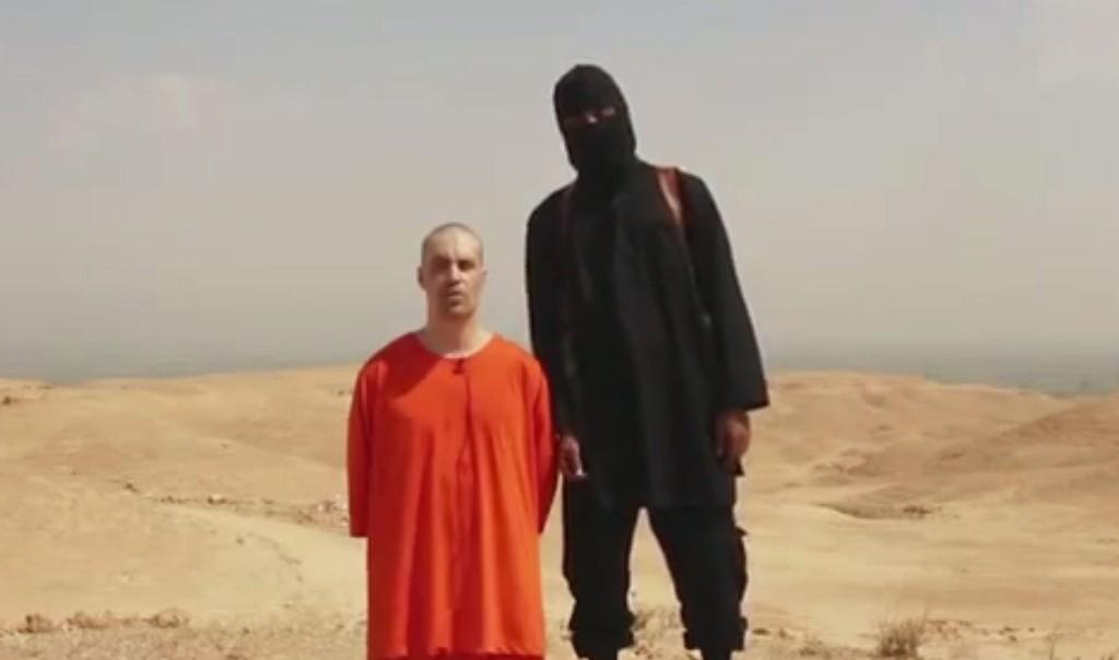 DREPT: Ekstremistgruppa IS har lagt ut en video på sosiale medier, som angivelig skal vise halshuggingen av den savnede amerikanske journalisten James Foley.