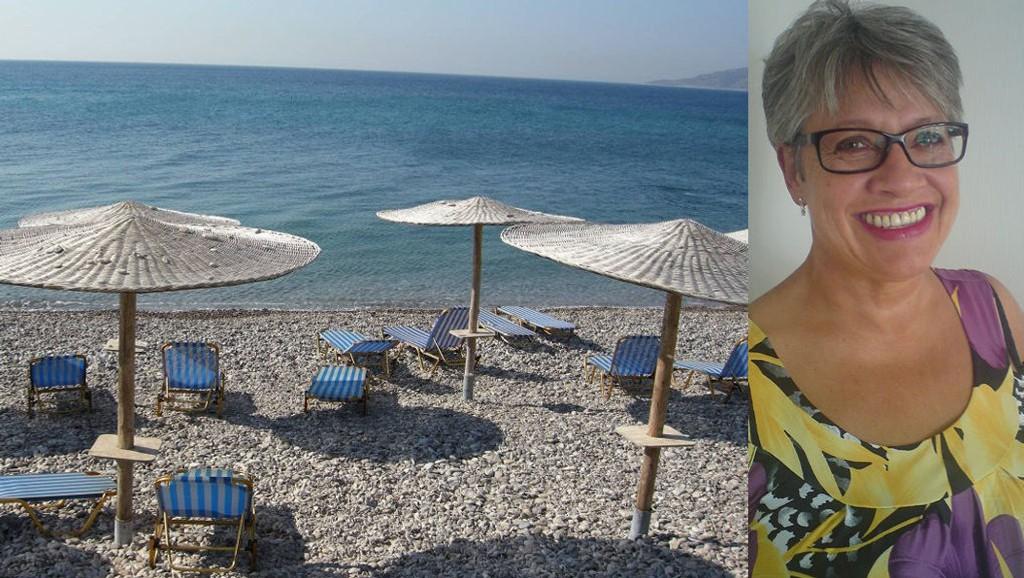 SOL OG VARME: Solveig Pauline Olsen skulle nyte en uke i sol og varme, men måtte gjøre vendereis da hun kom fram til Burgas i Bulgaria. Foto: Illustrasjonsfoto/NTB Scanpix/ANB og privat