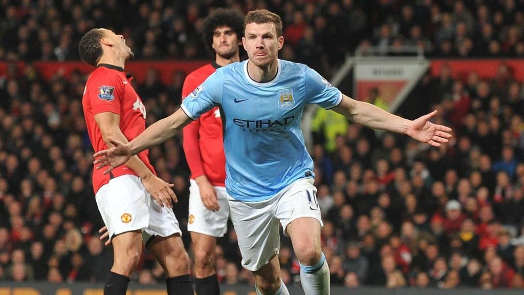 Edin Dzeko signerte onsdag en ny fireårskontrakt som binder ham til Manchester City fram til 2018.