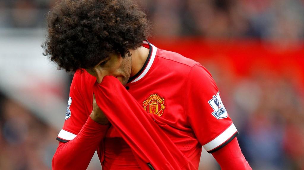 Marouane Fellaini har skrevet seg inn på Manchester Uniteds lange skadeliste. Det kan hindre et klubbskifte før overgangsvinduet lukkes.