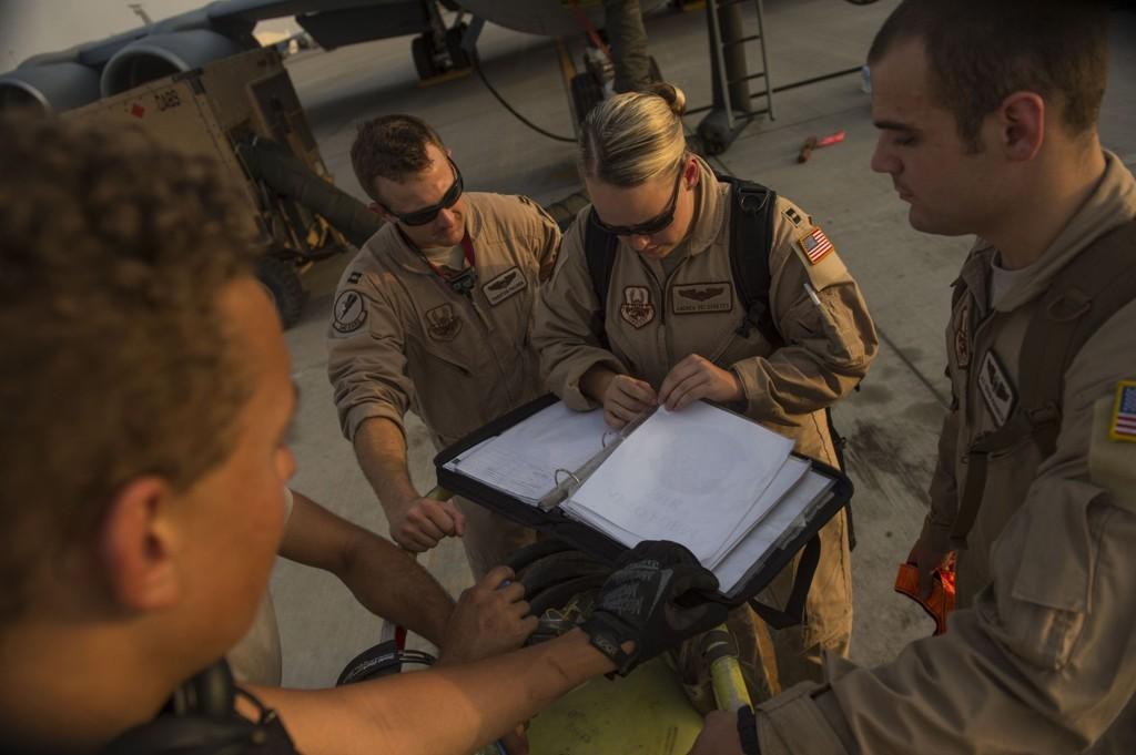 FLERE?: USA vurderer nå å sende flere soldater til Irak. Foto: Scanpix