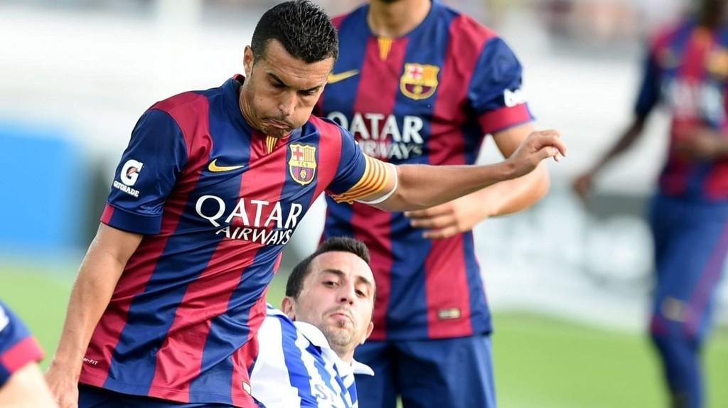 Erfan Zeneli og de andre HJK-spillerne ble et nummer for små i treningskampen mot Barcelona tidligere i måneden (0-6-tap), men vinnersjansene bør være betraktelig bedre mot et svekket og formsvakt Rapid Wien.