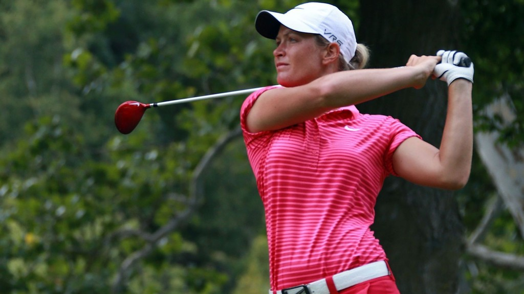 GOD START: Suzann Pettersen fikk en god start i Canada.
