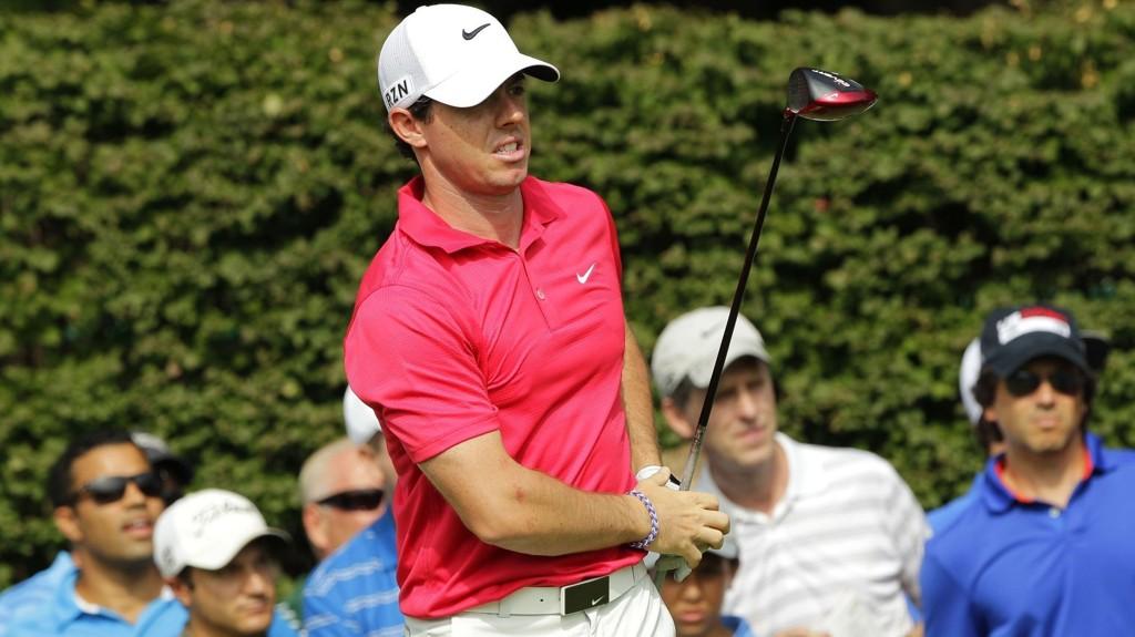 Rory McIlroy sier han ikke har fått trent nok den siste uken.
