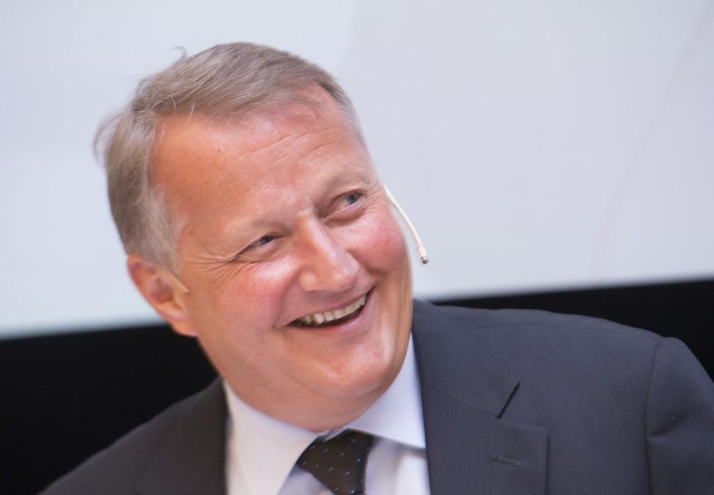 Konsernsjef Rune Bjerke har delvis fått det som han vil, og får lavere kapitalkrav å forholde seg til.
