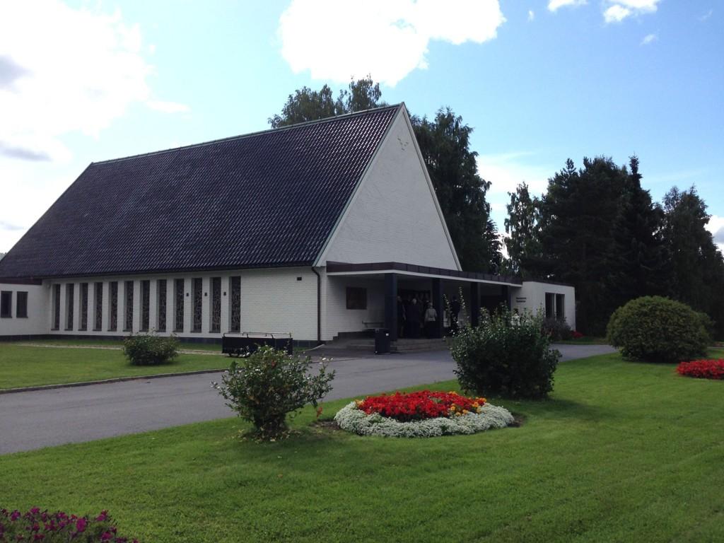 BEGRAVELSE: Per Engebretsen ble begravet fra Alfaset kapell i Oslo.