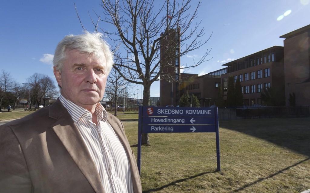 RÅDMANN: Torstein Leiro i Skedsmo kommune sier saksbehandleren har opptrådt forbilledlig.