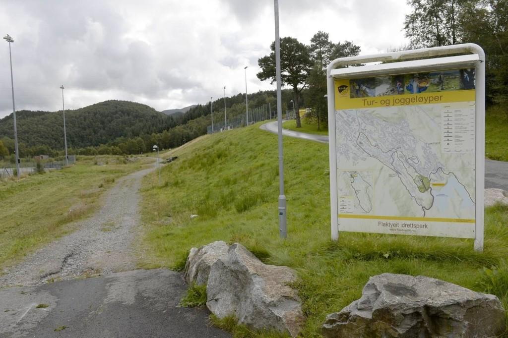 Det er en rekke turstier i området mellom Breimyra og Hjortlandsveien. - Det kryr av turgåere her, sier en nabo til Bergensavisen.