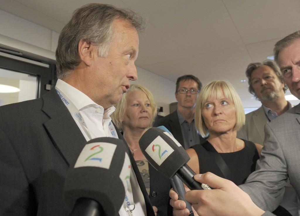 KS og lærerorganisasjonene møttes til nye sonderinger fredag ettermiddag. Per Kristian Sundnes og Ragnhild Lied ble ikke enige fredag.